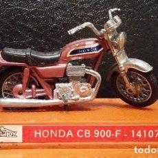 Motos a escala: GUILOY. HONDA CB 900-F MINI MOTO REF 141070 ORIGINAL AÑOS 70. Lote 73596239