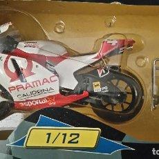 Motos a escala: MOTO ALEX BARROS 1:12 DUCATI. Lote 105822687