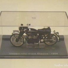 Motos a escala: VINCENT HRD BLACK SHADOW - 1954 -. Lote 76398515