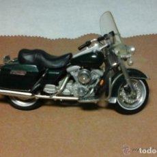 Motos a escala: MOTO HARLEY DAVIDSON MAISTO ESCALA 1.18. Lote 76779435