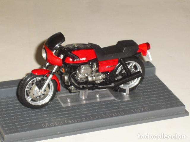MOTO GUZZI LE MANS - 1978 - (Juguetes - Motos a Escala)