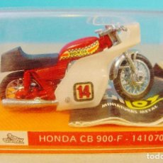 Motos a escala: HONDA CB 900-F. GUILOY. EN SU CAJA ORIGINAL CON CATÁLOGO.. Lote 80610682