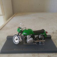 Motos a escala: MOTO MINIATURA - MUNCH MAMMOTH - 1967. Lote 81637246