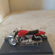 Motos a escala: MOTO MINIATURA - NORTON COMMANDO - 1969. Lote 81735850