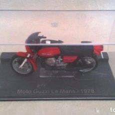 Motos a escala: GUZZI LE MANS 1978. Lote 84525668