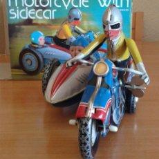 Motos a escala: MOTO SIDECAR DE OJALATA--NUEVO. Lote 105632840