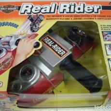 Motos a escala: MATCHBOX: HARLEY DAVIDSON REAL RIDER. ¡¡NUEVO!! ORIGINAL Y SIN ABRIR.. Lote 86724824
