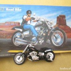 Motos a escala: MAQUETA MOTO HELLER ROAD BIKER ESCALA 1:12 MONTADA. Lote 89089940
