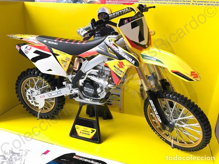 moto cross suzuki rm z450 factory racing de jam comprar motos a escala en todocoleccion 77482581. Black Bedroom Furniture Sets. Home Design Ideas