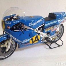 Motos à l'échelle: FRANCO UNCINI SUZUKI 1/12 1982 VERY RARE. Lote 91248130