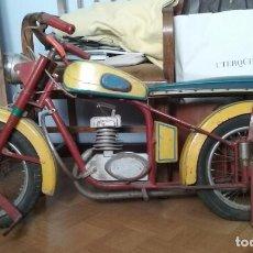 Motos a escala: 2 MOTOS LUBE DE TIOVIVO DE LOS AÑOS 50. Lote 91954945