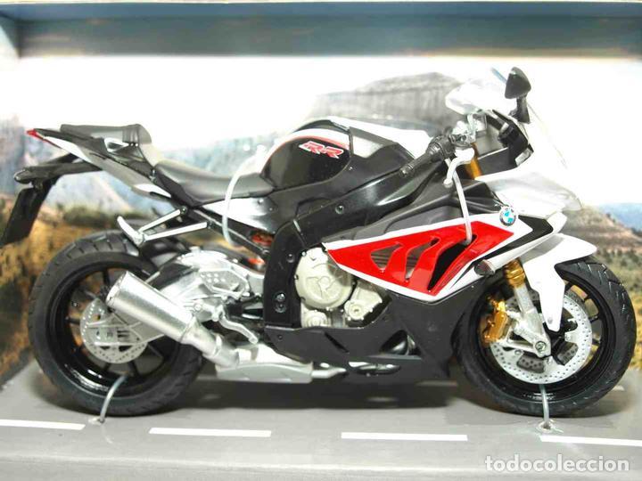 BMW S 1000 RR ESCALA 1/12 JOYCITY MOTO MINIATURA (Juguetes - Motos a Escala)
