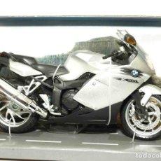 Motos a escala: BMW K 1200 S ESCALA 1/12 JOYCITY MOTO MINIATURA. Lote 180111088