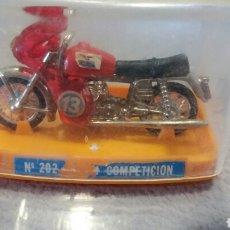 Motos a escala: MOTO GUZZI COMPETICION GUISVAL REF 202. Lote 94517302