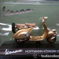 Motos a escala: MOTO COLECCIÓN VESPA HOFFMANN KONIGIN 1/18 (1954) DESCATALOGADA . Lote 98609451