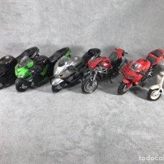 Motos a escala: LOTE X6 MOTOS A ESCALA. Lote 95774980