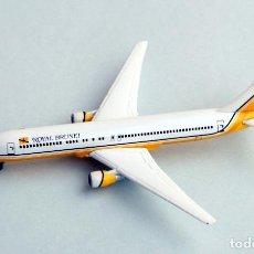 Motos a escala: HERPA WINGS 1:500 • BOEING 767-300ER (EXT. RANGE) ROYAL BRUNEI • METÁLICO ESCALA 1/500. Lote 96699267