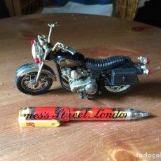 Motos a escala: MOTO HARLEY DAVIDSON MARCA GUILOY. Lote 96837674
