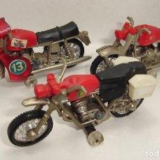 Motos a escala: ANTIGUO LOTE DE MOTOS GUISVAL BULTACO MOTO GUZZI. Lote 98107295