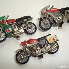Motos a escala: ANTIGUO LOTE DE MOTOS GUISVAL BULTACO HONDA. Lote 98107403