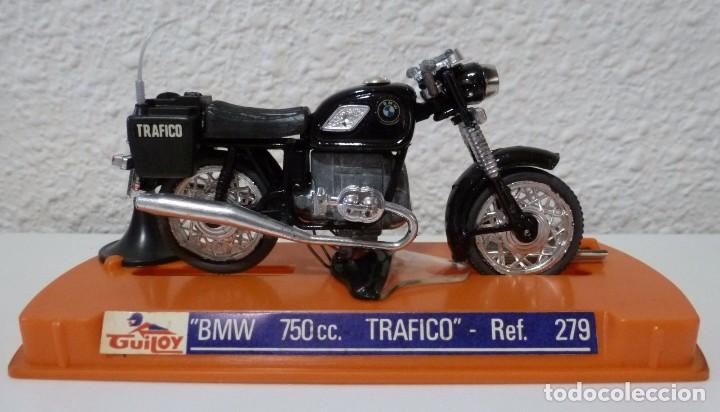 GUILOY BMW 750 C.C. TRAFICO - REF. 279 MADE IN SPAIN (Juguetes - Motos a Escala)