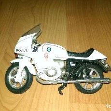 Motos a escala: MOTO POLICÍA BMW. Lote 98542923