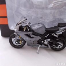 Motos a escala: TRIUMPH DAYTONA 675 MOTO BIKE MITOS DE DOS RUEDAS WELLY 1/18. Lote 98612691