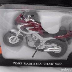 Motos a escala: 2001 YAMAHA TDM 850 MOTO BIKE MITOS DE DOS RUEDAS WELLY 1/18. Lote 98612887