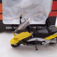 Motos a escala: 2001 YAMAHA XP 500 TMAX MOTO BIKE MITOS DE DOS RUEDAS WELLY 1/18. Lote 98613059