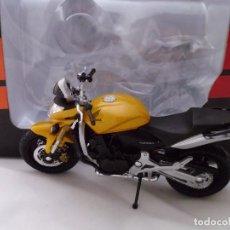 Motos a escala: HONDA HORNET MOTO BIKE MITOS DE DOS RUEDAS WELLY 1/18. Lote 98613143