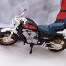 Motos a escala: HONDA STEED 600 MOTO BIKE MITOS DE DOS RUEDAS WELLY 1/18. Lote 98613215