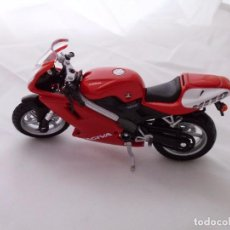 Motos a escala: CAGIVA MITO 125 MOTO BIKE MITOS DE DOS RUEDAS WELLY 1/18. Lote 98613387