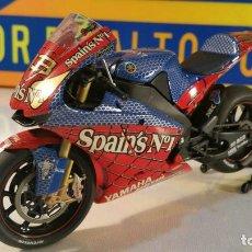 Motos a escala: YAMAHA 'SPIDERMAN' MOTOGP 2004 - M MELANDRI 1/12 SCALE. Lote 101292683