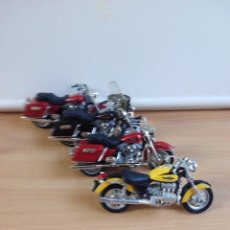 Motos a escala: LOTE DE 4 REPLICAS DE MOTOS. Lote 102963959