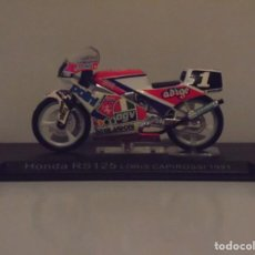 Motos a escala: HONDA RS125 LORIS CAPIROSSI 1991. Lote 104929135