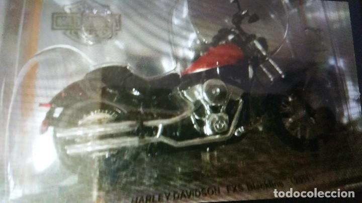 Motos a escala: HARLEY-DAVIDSON DAVIDS miniaturas de coleccion - Foto 3 - 105329343