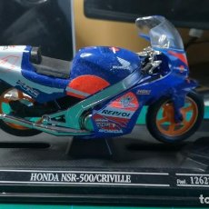 Motos a escala: HONDA NSR 500/CRIVILLE. Lote 107226995