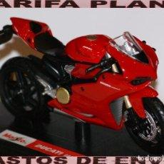 Motos a escala: MOTO DUCATI 1199 ESCALA 1:18 DE MAISTO EN SU CAJA. Lote 108345447