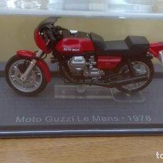 Motos a escala: MOTO GUZZI LE MANS 1978 1/24 ALTAYA-IXO. Lote 108374583