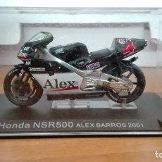 Motos a escala: HONDA NSR 500 ALEX BARROS 2001 1/24 ALTAYA-IXO. Lote 108380583