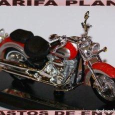 Motos a escala: MOTO YAMAHA 2001 ROAD STAR ESCALA 1:18 DE MAISTO EN SU CAJA. Lote 108457499