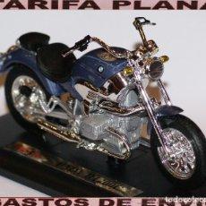 Motos a escala: MOTOBMW R1200C ESCALA 1:18 DE MAISTO EN SU CAJA. Lote 108458295