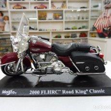 Motos a escala: MAISTO 2000 FLHRC ROAD KING CLASSIC MOTO HARLEY DAVIDSON. Lote 109562531