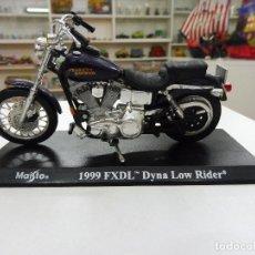 Motos a escala: MAISTO 1999 FXDL DYNA LOW RIDER MOTO HARLEY DAVIDSON. Lote 109564719