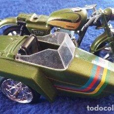 Motos a escala: GUILOY MOTO CON SIDECAR - YAMAHA OCH 750 - AÑOS 70. Lote 112174759