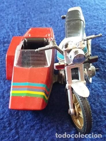 GUILOY MOTO CON SIDECAR - HONDA CA 900 - AÑOS 70 (Juguetes - Motos a Escala)