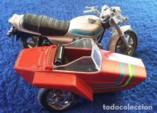 Motos a escala: Guiloy MOTO CON SIDECAR - HONDA CA 900 - AÑOS 70 - Foto 2 - 112174891
