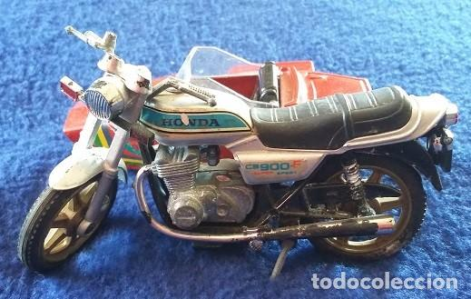 Motos a escala: Guiloy MOTO CON SIDECAR - HONDA CA 900 - AÑOS 70 - Foto 3 - 112174891