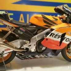 Motos a escala: ESCALA 1.12 MOTO GP HONDA HRC REPSOL VALENTINO ROSSI. Lote 112243839
