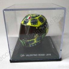 Motos a escala: CASCO MOTO GP VALENTINO ROSSI 2015 (SEPANG TEST 2015) - 1:5. Lote 97362727